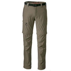 Maier Sports Tajo 2 Zip Off broek Heren bruin